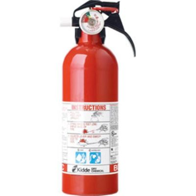 Kidde 2 lb Automotive BC Fire Extinguisher w/ Nylon Strap Bracket (Disposable)
