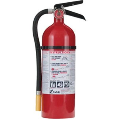 Kidde Consumer 5 lb ABC Fire Extinguisher w/ Wall Hook